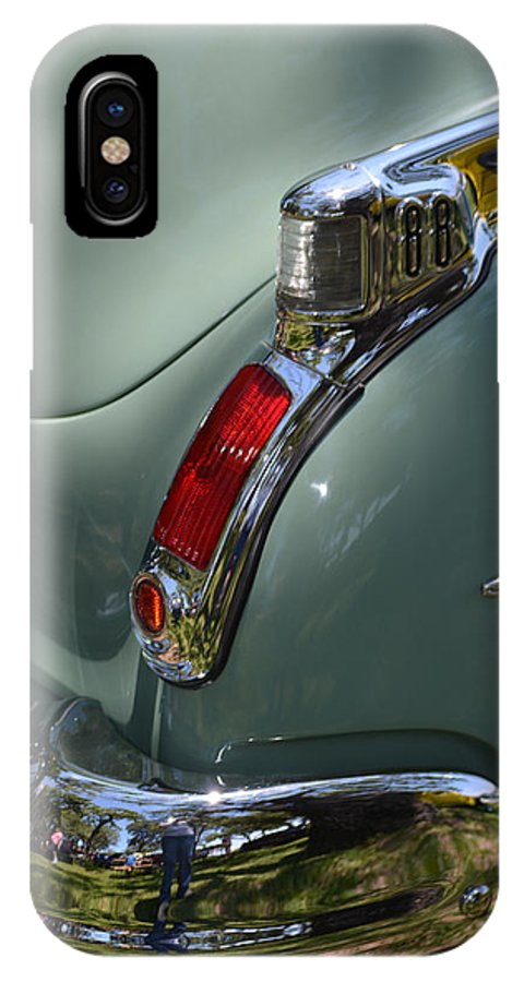Olds IPhone X / XS Case featuring the photograph Oldsmobile 88 by Gale Cochran-Smith