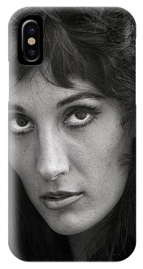 Portrait IPhone X Case featuring the photograph Olga by Hal Norman K