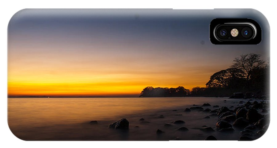 Ometepe IPhone X / XS Case featuring the photograph Ometepe Lake Mist by Tyler Lucas