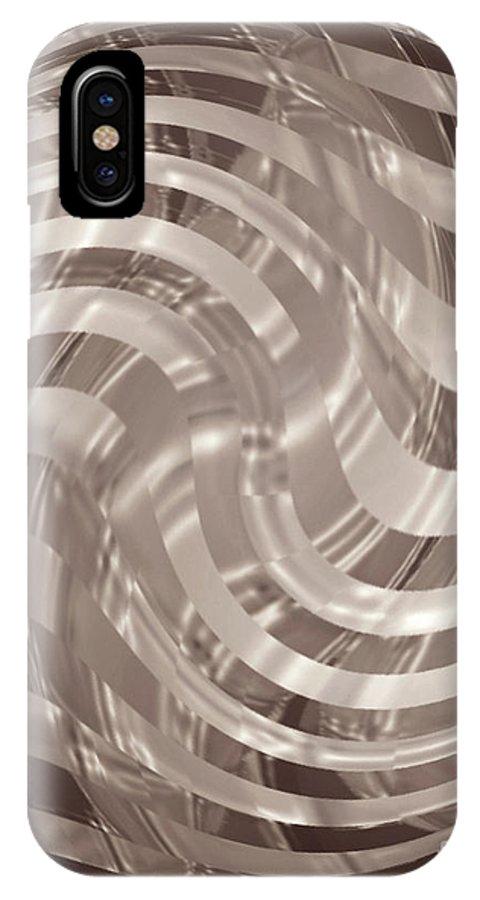 Omnetra Moveonart Renewspirit IPhone X Case featuring the digital art Omnetra Moveonart Renewspirit by Jacob Kanduch