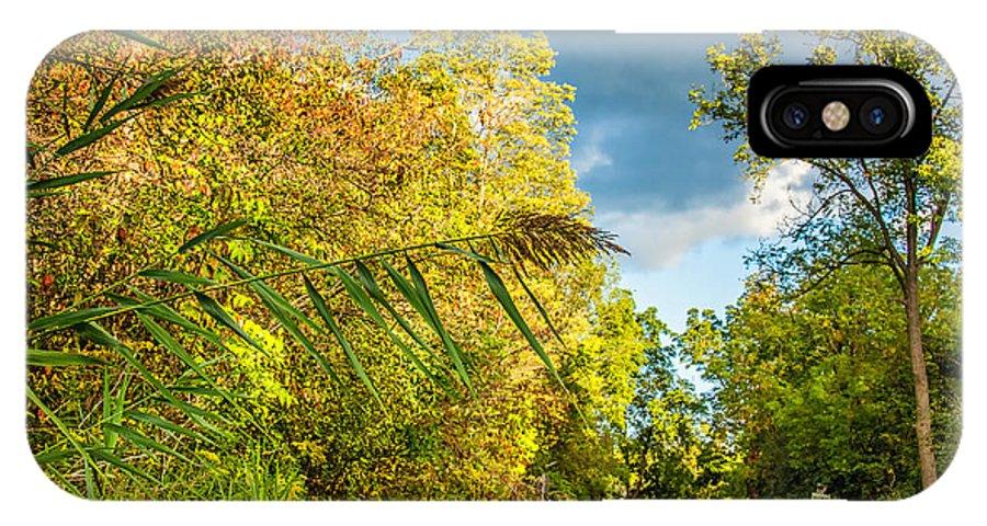 Steve Harrington IPhone X Case featuring the photograph On The Road To Autumn by Steve Harrington