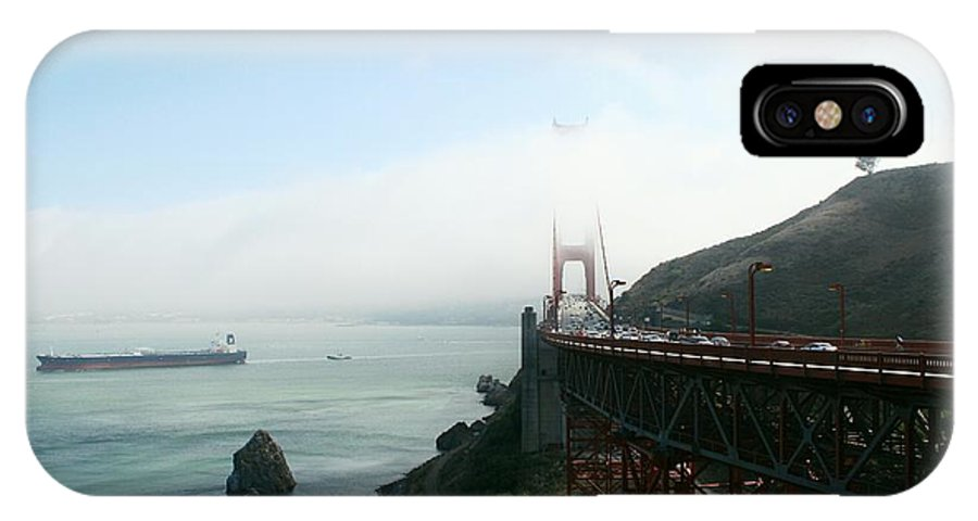 Bridge IPhone X Case featuring the photograph On The Way Back To San Francisco by Christiane Schulze Art And Photography