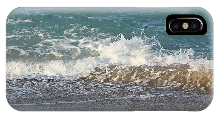 Ocean IPhone X Case featuring the photograph On The Way Out by Cynthia N Couch