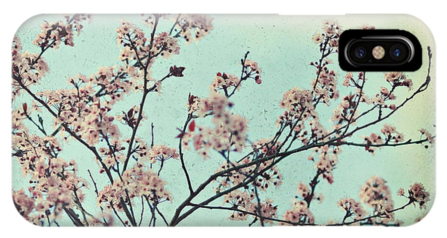 Spring IPhone X Case featuring the photograph One Fine Spring Day by Sylvia Cook