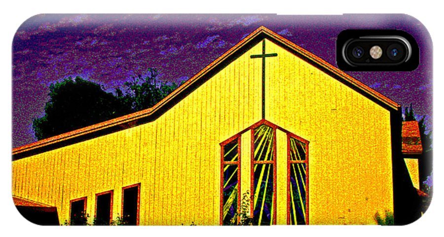 Sacramento River Delta IPhone X Case featuring the photograph One Of Many Doors . . . Of The Lord by Joseph Coulombe