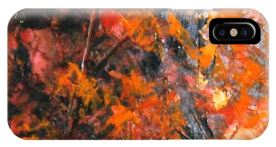 Lyle IPhone X Case featuring the painting Orange by Lord Frederick Lyle Morris - Disabled Veteran