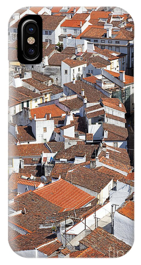 Rooftops IPhone X Case featuring the photograph Orange Roofs by Jose Elias - Sofia Pereira