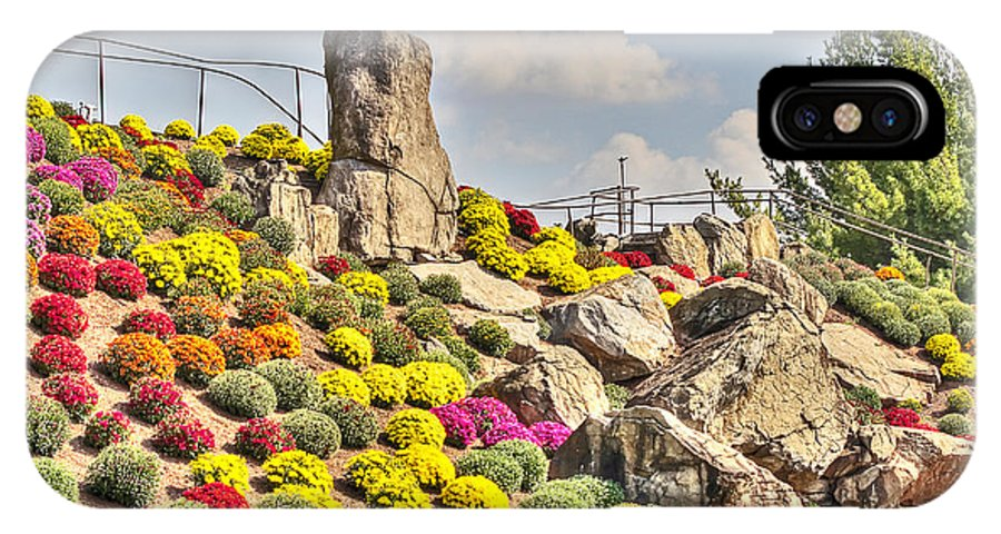 Otts IPhone X Case featuring the photograph Ott's Greenhouse - Schwenksville - Pa by Mother Nature