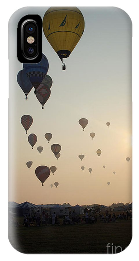 Balloons IPhone Case featuring the photograph Out Of The Sun No3 by Paul Anderson