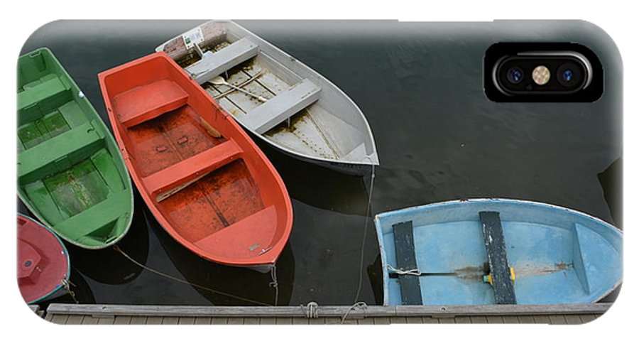Boat Photograph IPhone X Case featuring the photograph Out Of The Way by Ricardo Dominguez