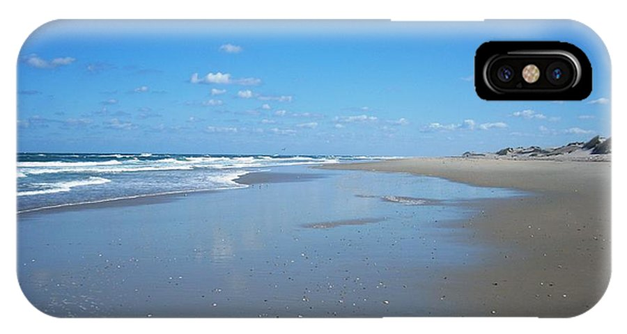 Beach IPhone X Case featuring the photograph Outer Banks by Karen King