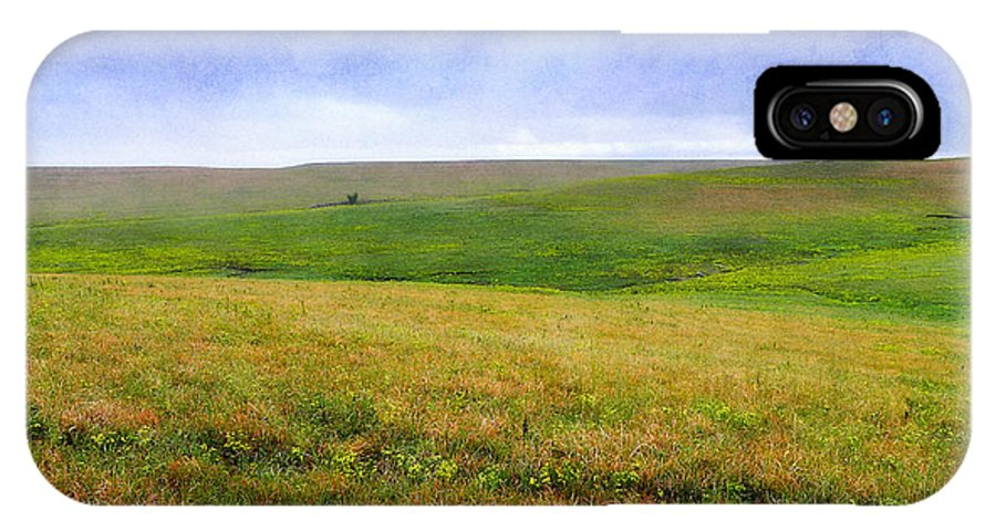 Flint Hills IPhone X Case featuring the photograph Painted Hills by Eric Benjamin