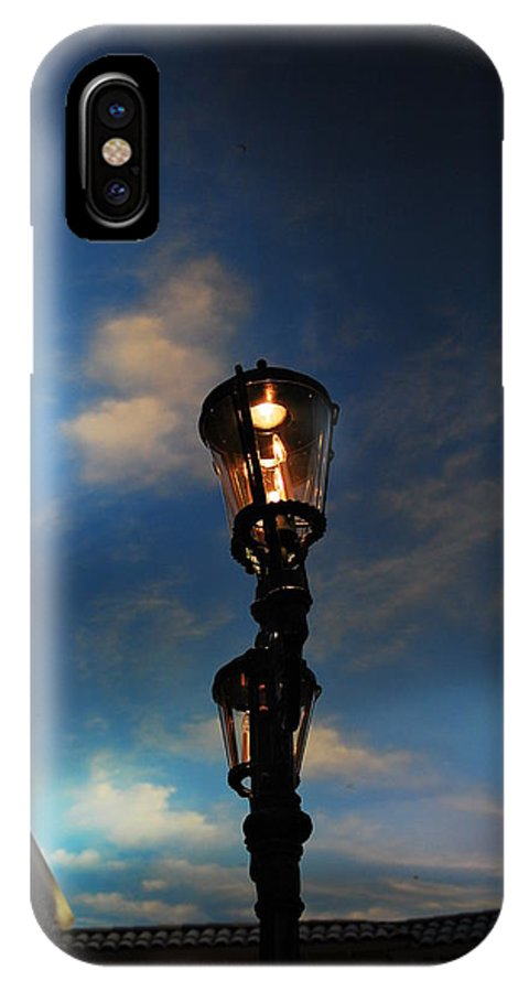 Urban IPhone X Case featuring the photograph Painted Sky by Darrell Clark