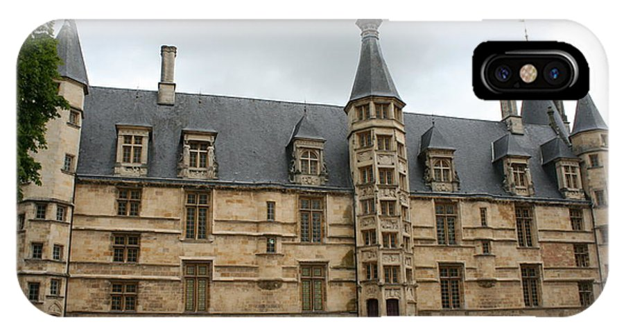 Palace IPhone X Case featuring the photograph Palace Ducal Nevers by Christiane Schulze Art And Photography