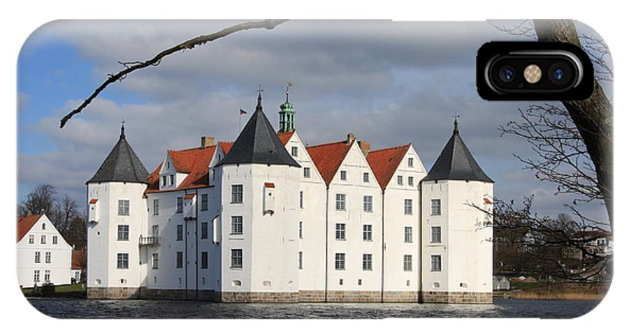 Palace IPhone X Case featuring the photograph Palace Gluecksburg - Germany by Christiane Schulze Art And Photography