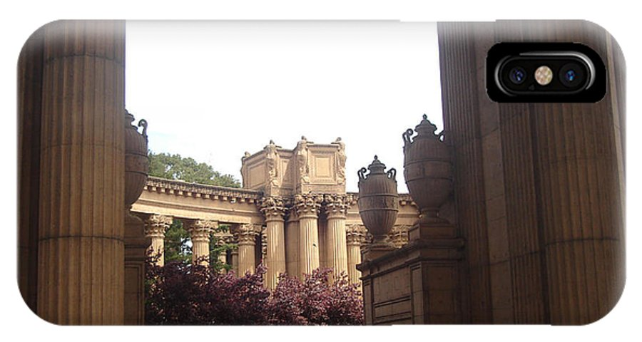 Palace Of Fine Arts IPhone X Case featuring the photograph Palace Of Fine Arts 8 by Lovina Wright
