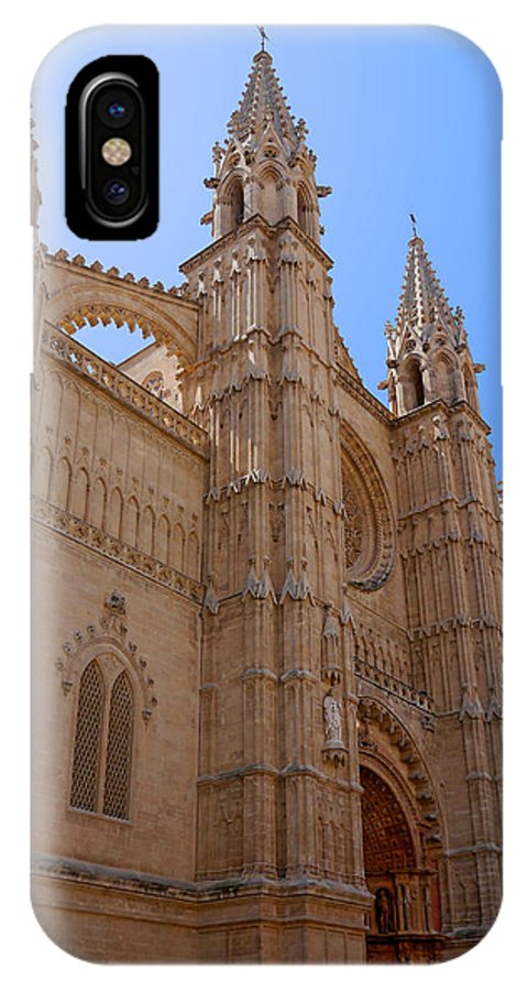 IPhone X Case featuring the photograph Palma Cathedral 5 by Herb Paynter