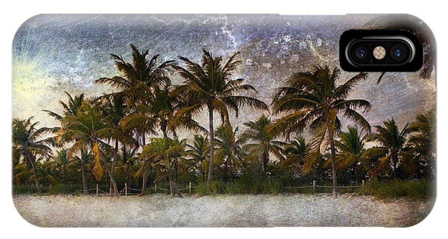 Beach IPhone X Case featuring the photograph Paradise Found by Ellen Heaverlo