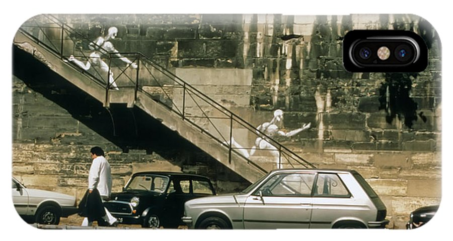 Paris IPhone X Case featuring the photograph Paris Wall by Thomas Marchessault