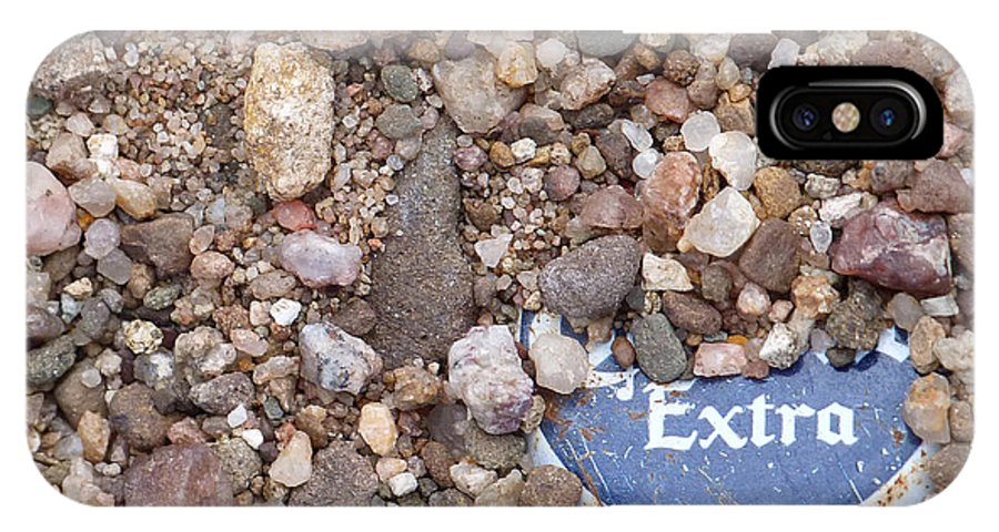 Beer IPhone X Case featuring the photograph Party Excavation by Susan Porter