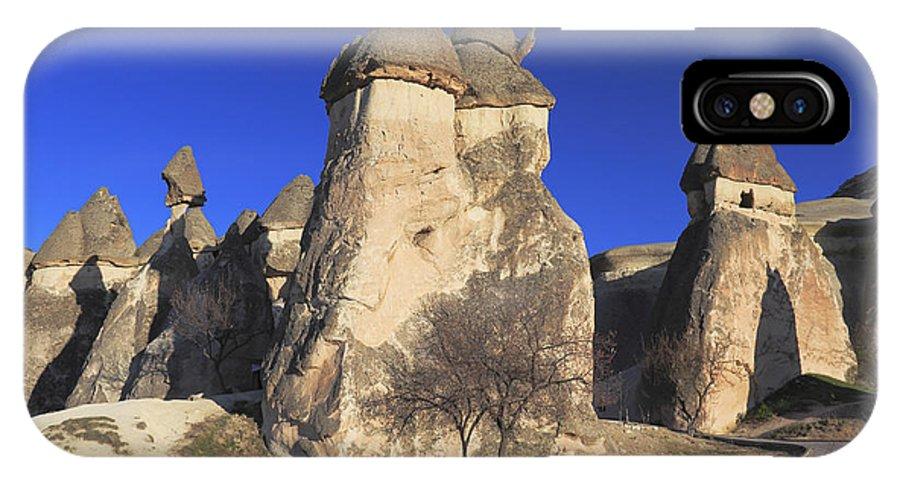 Turkey IPhone X / XS Case featuring the photograph Pasabag Goreme National Park Cappadocia Turkey by Ivan Pendjakov