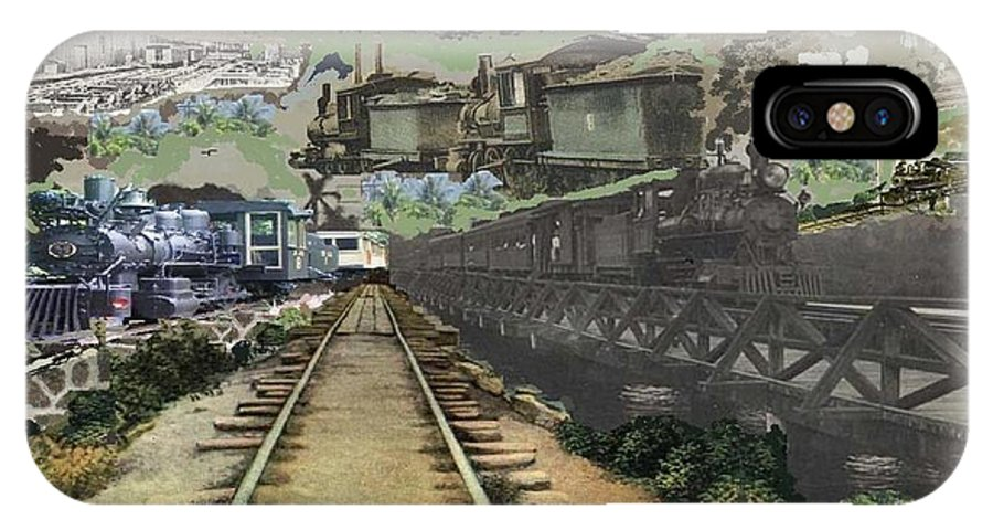 Trains. Wagon IPhone X Case featuring the photograph Past Century Trains by Jose Galindo
