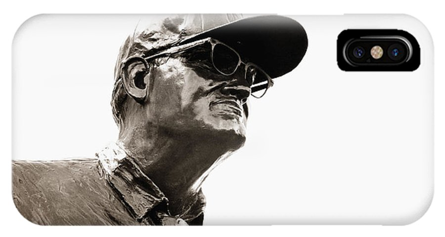 Woody Hayes IPhone X Case featuring the photograph Pay It Forward by Rachel Barrett