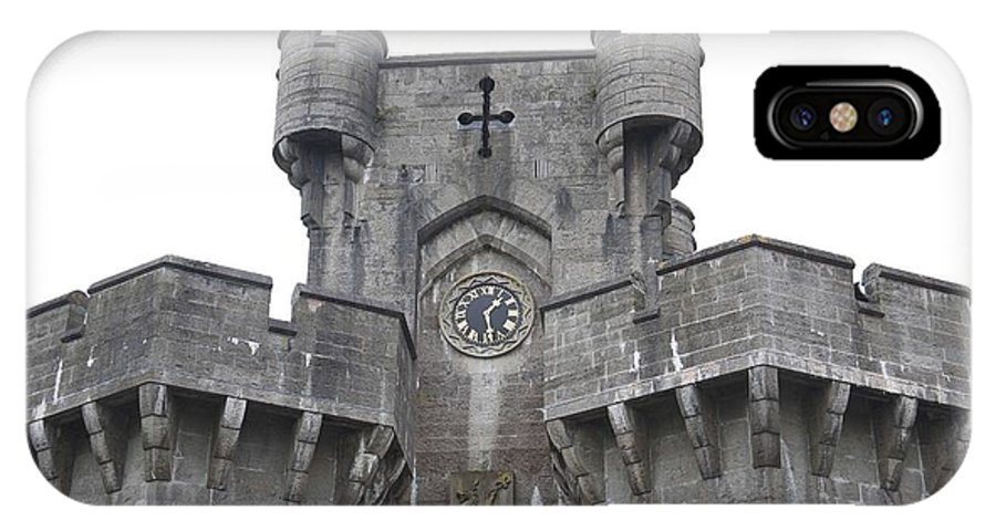Castles IPhone X Case featuring the photograph Penrhyn Castle 2 by Christopher Rowlands