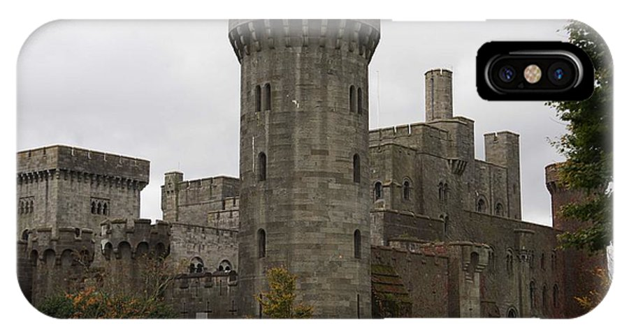 Castles IPhone X Case featuring the photograph Penrhyn Castle 4 by Christopher Rowlands