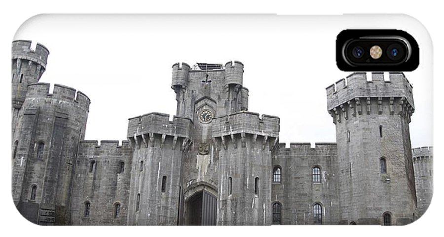 Castles IPhone X Case featuring the photograph Penrhyn Castle by Christopher Rowlands