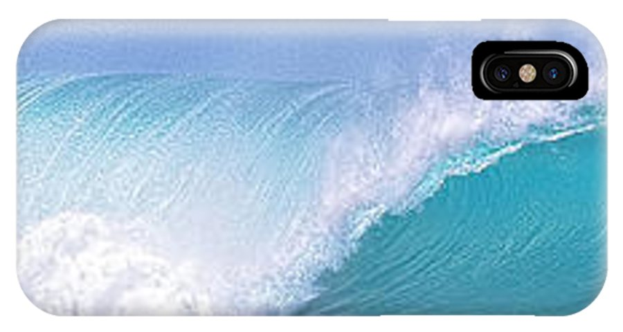 Banzai Pipeline IPhone X Case featuring the photograph Perfect Pipeline 6 To 1 Ratio by Aloha Art