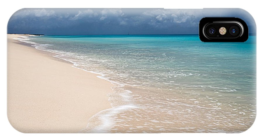 Barbuda IPhone X Case featuring the photograph Perfect by Susan Degginger