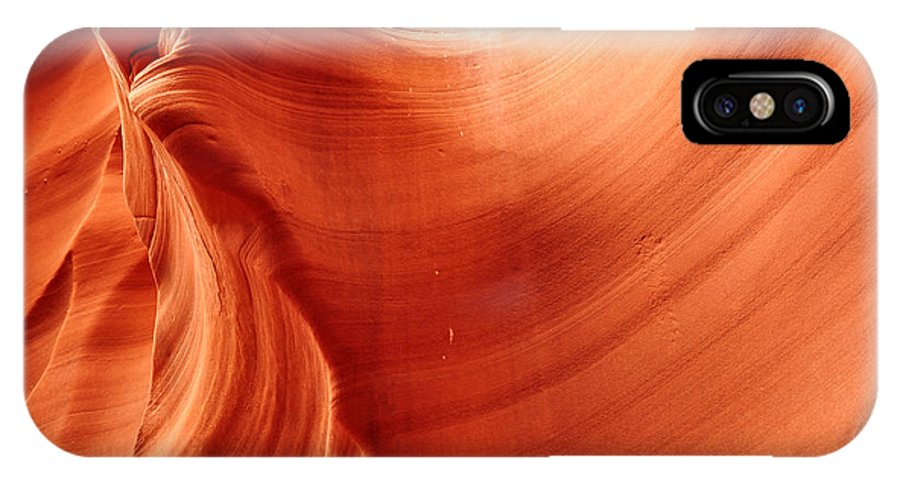 Antelope Canyon IPhone X Case featuring the photograph Petrified by Andrew Broom