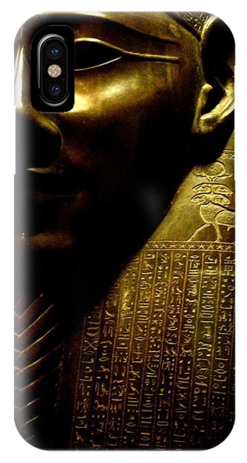 Egypt IPhone X Case featuring the photograph Pharaohs Curse by MAriO VAllejO