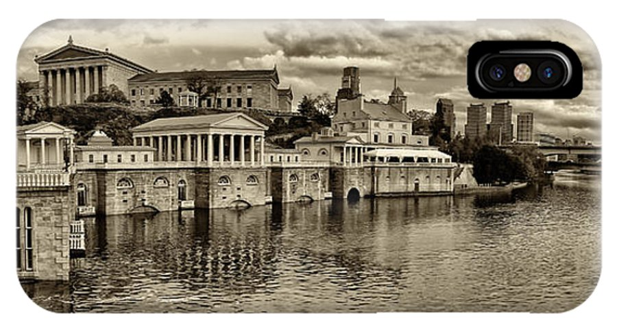 Art Museum IPhone X Case featuring the photograph Philadelphia Art Museum 8 by Jack Paolini