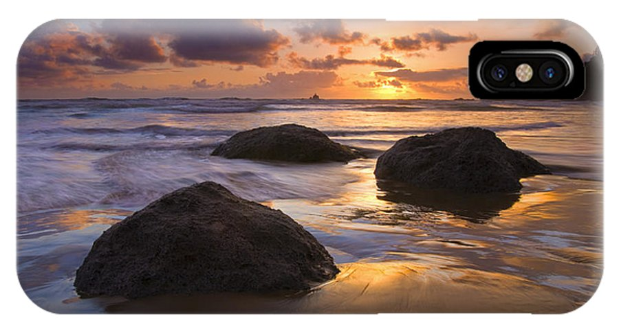 Sunset IPhone Case featuring the photograph Pieces Of Eight by Mike Dawson