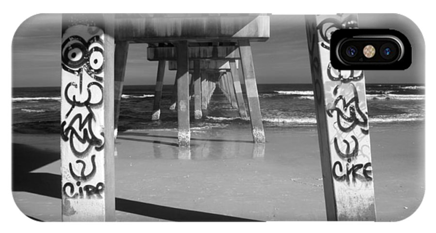 Pier IPhone X Case featuring the photograph Piersonality by Jennifer Ann Henry