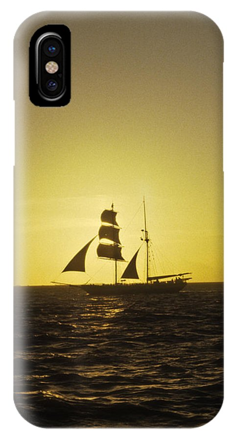 Pirates IPhone Case featuring the photograph Pirates At Sea - Caribbean by Douglas Barnett