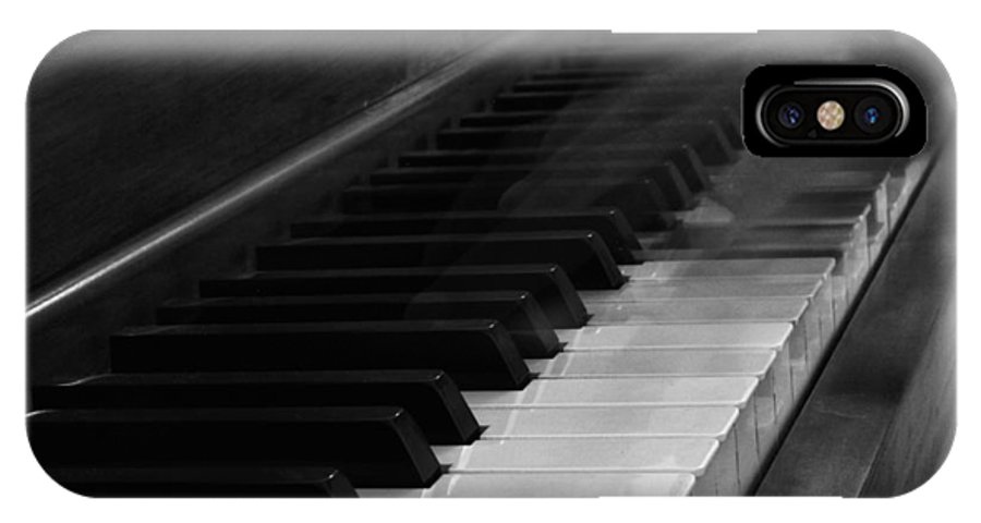 The Black Keys IPhone X Case featuring the photograph Playing The Piano by Dan Sproul