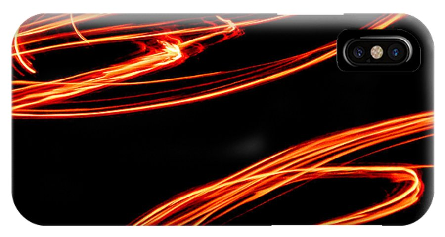 Fire IPhone X Case featuring the photograph Playing With Fire 12 by Cheryl McClure