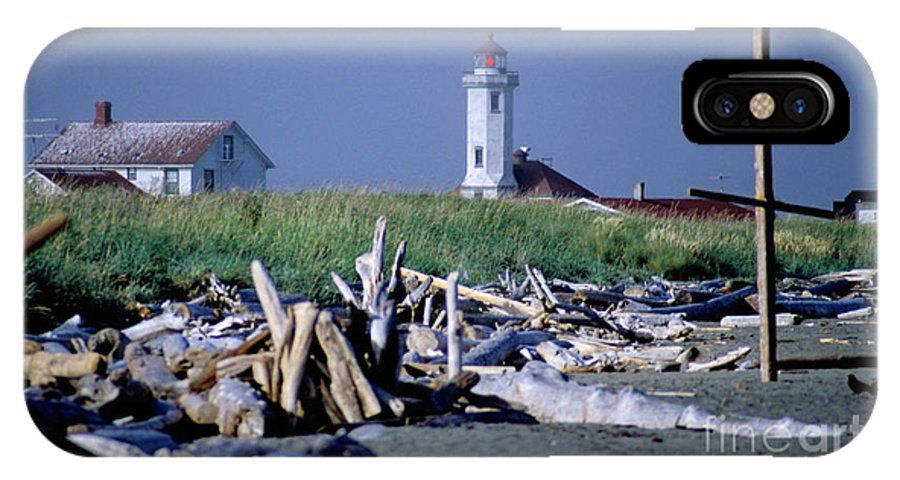 Point Wilson IPhone X Case featuring the photograph Point Wilson by Sharon Elliott
