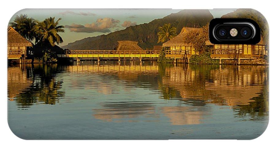 Art IPhone X Case featuring the photograph Polynesian Art by Gigi Ebert