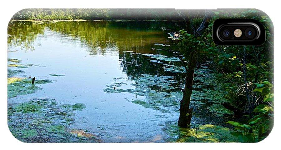 IPhone X Case featuring the photograph Pond 3 by Ricardo J Ruiz de Porras