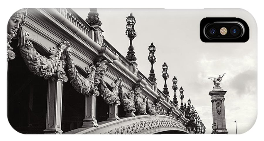 Pont Alexandre Iii IPhone X Case featuring the photograph Pont Alexandre IIi by Melanie Alexandra Price