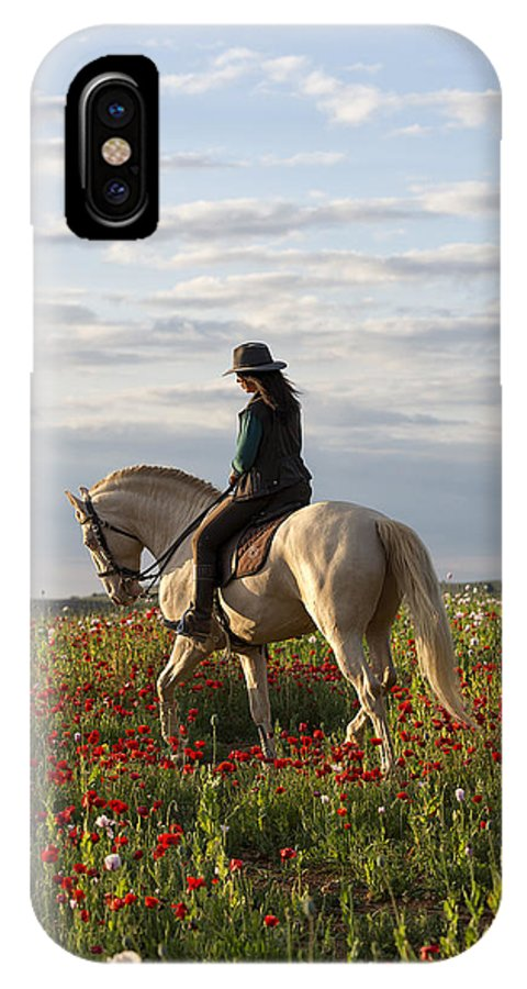 Spain IPhone X Case featuring the photograph Poppy by Pamela Steege