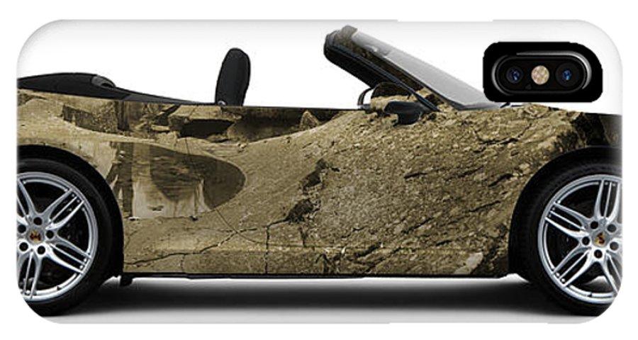 Car IPhone X Case featuring the photograph Porsche 911 Devils Den by Art Faul