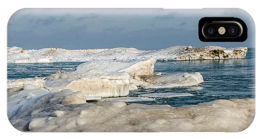 Lake Michigan IPhone X Case featuring the photograph Port Washington - South Beach 2 by Susan McMenamin