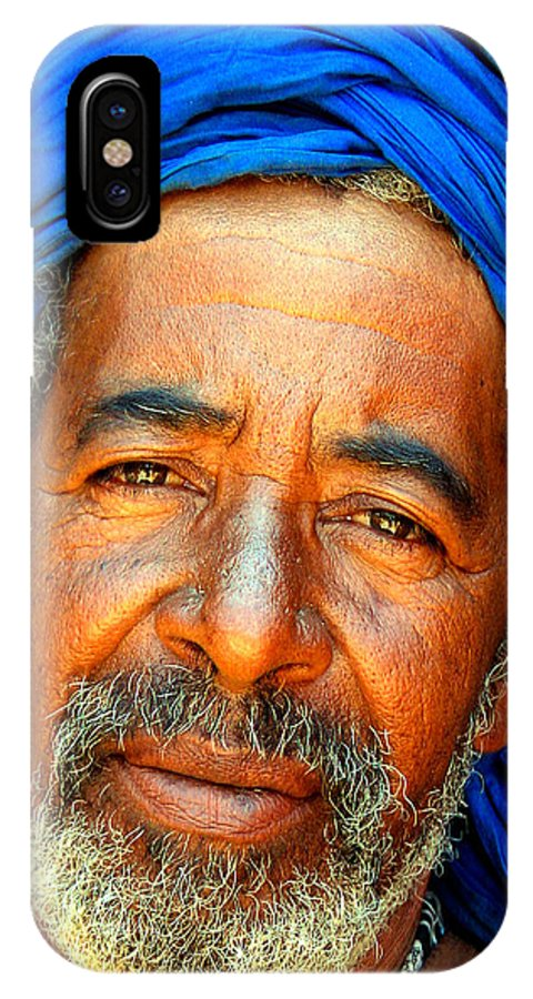 Berber Man IPhone Case featuring the photograph Portrait Of A Berber Man by Ralph A Ledergerber-Photography