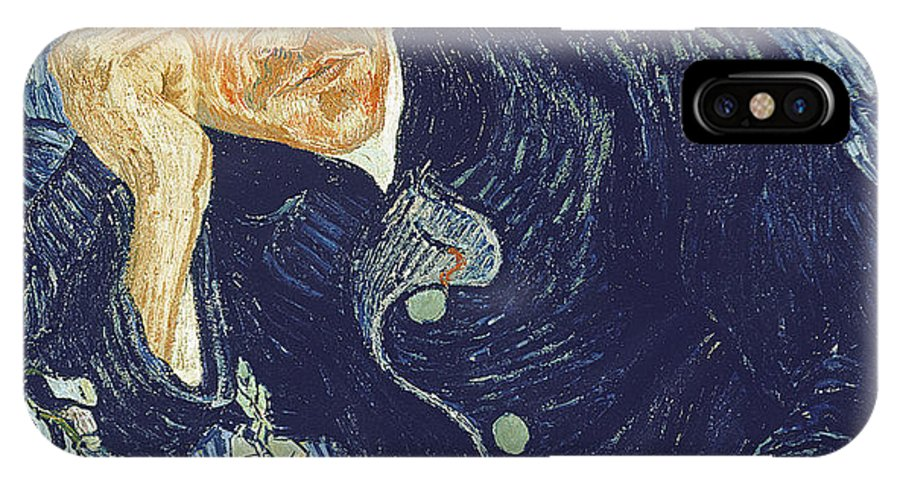 Vincent Van Gogh IPhone X Case featuring the painting Portrait Of Dr Gachet by Vincent Van Gogh