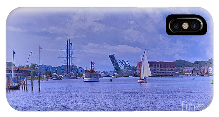 Mystic IPhone X Case featuring the photograph Postcard Perfection by Joe Geraci